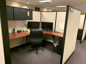 94 Steelcase Office Modular Cubicle Stations Super Nice Clean