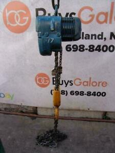 Demag 2 Ton Electric Chain Hoist 460 Volts 3 Phase
