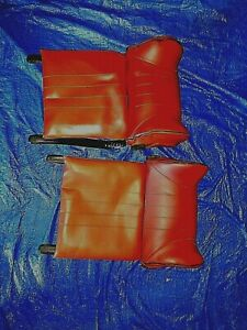 Vintage Austi Auxiliary Head Rests pair Made In Denmark Like New