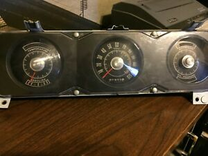 1968 Ford Fairlane Torino Ranchero Dash Instrument Cluster Assembly Panel