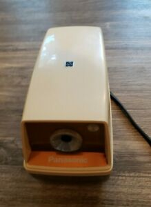 Vintage Panasonic Electric Pencil Sharpener Kp 33