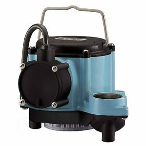 Little Giant 8 cia Automatic Operation Submersible Sump Pump 10 Cord