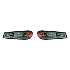 Fits 2004 2008 Chevy Colorado Front Signal Corner Light Pair