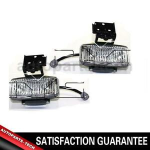 2x Tyc Left Right Fog Light Assembly For Jeep Grand Cherokee 1997 1998