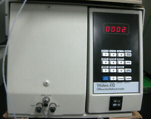 Working Waters Hplc 410 Rid Differential Refractometer Tested With Empower 3