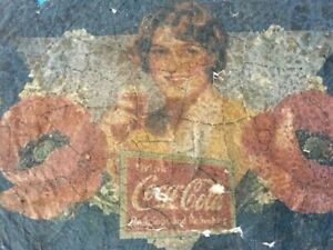 Coca Cola Antique Advertisement Advertising Early Years