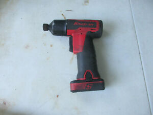 Snap On Tools Ct661 3 8 Drive Cordless Impact Wrench gun With Battery