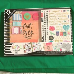 Me My Big Ideas Happy Planner Undated 12 Month Box Kit Planner Supplies Mambi