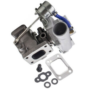 Upgraded Gt28 Gt2871 Gtx2871 Turbo Charger Compressor A r 0 6 T25 4 bolt Flange