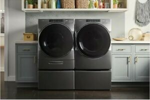 whirlpool Xl Load And Go 4 5 cu Ft Washer 7 4 cu Ft Steam Dryer Slightly Used