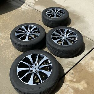 17 Acura Tlx 2015 2016 2017 Factory Oem Rim 7black Machined With Goodyear Tires