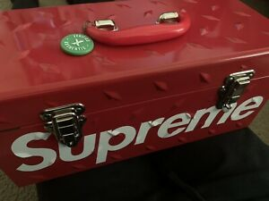 Supreme Diamond Plate Toolbox Tool Box