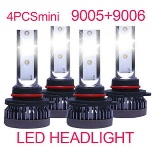 9005 9006 Combo Led Headlight Bulb For Toyota Corolla 2001 2013 High Low Beam