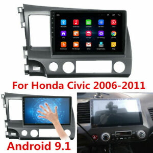 10 1 Android 10 0 Quad Core Car Stereo Gps Radio Head Unit Dsp For Honda Civic