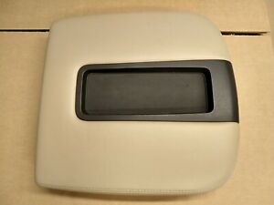 07 13 Gmc Yukon Tan Center Console Lid Armrest Arm Rest Cover Top Y2708