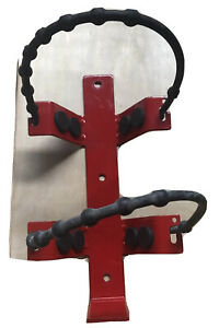 Heavy Duty 2 5 5 Lb Fire Extinguisher Bracket With Rubber Bungeetype Straps Used