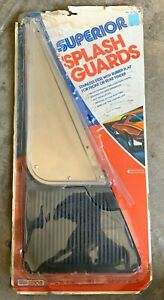 Vintage Nos Superior Front Or Rear 18 X 8 Stainless Steel Splash Guard 55 751