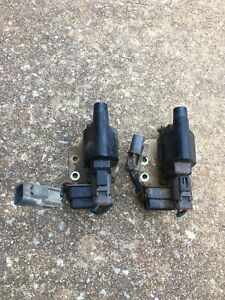 1986 1989 Nissan Hardbody Z24 4cyl Ignition Modules And Coils