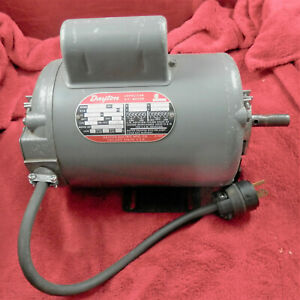 Dayton Reversible Electric Motor 1 Hp 1725 Rpm 5k922e 115 230 Volts 1 Phase 5 8