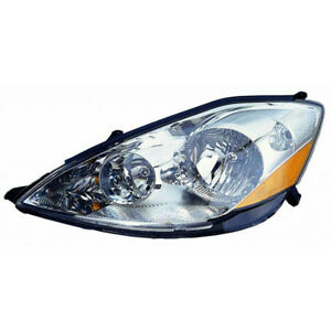For 2006 2010 Toyota Sienna Headlight Assembly Driver Side W o Hid Type