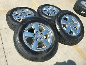 17 Jeep Grand Cherokee Oem Wheels Rims Tires 2000 2001 2002 2003 2004 2005 9042