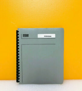 Systron Donner Microwave Counter 6400 6500 Service Manual