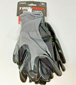 Big Time Products 9108 26 True Grip X large Polyester Nitrile Coated Men s Al