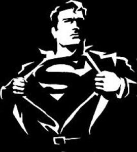 Superman Vinyl Decal Sticker Car Truck Suv Van Bumper Wall Laptop Clark Kent