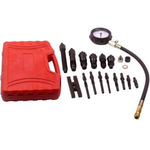 Diesel Engine Compression Tester Test Tool Set Kit For Auto Tractor Car