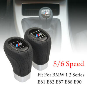 5 6 Speed Gear Shift Knob Shifter Lever For Bmw 1 3 Series E81 E82 E87 E88 E90
