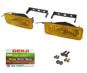 Universal Fog Light Spot Lamp H3 12v 55w Yellow 2 Dj