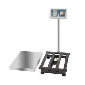 Digital Platform Postal Scale Electronic Weight 4 4 660lbs Charger 110v New