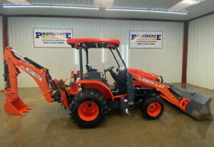 2017 Kubota L47 Hst 4x4 With Tl1300 Loader W Quick Attach Manual