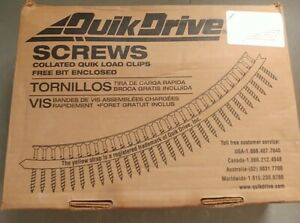 Quick Drive 2 Inch Sub Floor Screws Quick Load 1 920 Open Box
