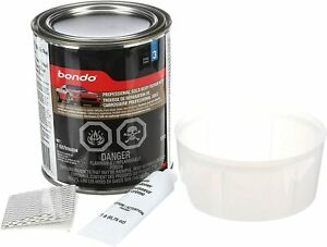Bondo Professional Gold Body Filler Repair Kit Dents Holes And Scratches