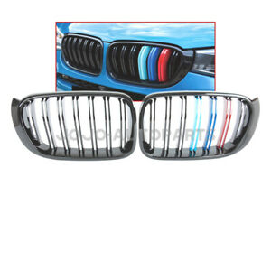 Gloss Black M Color Dual Slat Grille For Bmw X3 F25 X4 F26 14 18