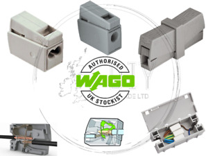 Wago 224 Electrical Lighting Connectors Wire Block Clamp Clips Fast Cable