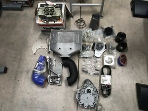 Nib Vortech Carburated Sbc Supercharger Kit Chevy Small Block
