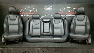 2013 Volvo S60 T5 Front Bucket Rear Power Leather Seats Gray