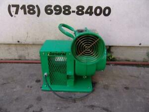 General Allegro Confined Space Manhole Air Flow Mover Electric Blower