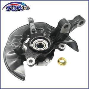 Front Left Knuckle Steering Wheel Bearing Hub Assembly For 03 08 Toyota Matrix