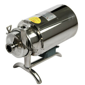 Stainless Steel Sanitary Pump Sanitary Beverage Milk Delivery Pump 220v