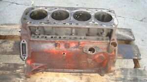 Ford 960 Tractor Gas Engine Block 800 900
