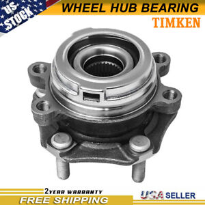 Front Wheel Hub Bearing Timken Ha590252 For Nissan Maxima Altima 3 5l W Abs