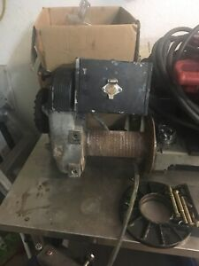 Warn 8274 Winch Early Model