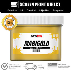 Marigold Screen Printing Plastisol Ink Low Temp Cure 270f 8oz