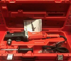 Milwaukee 1 2 Super Hawg Right Angle Drill With Carrying Case