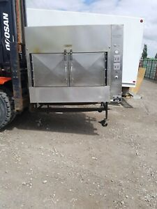 Ole Hickory Pits Model El ew Bbq Smoker Commerical 2008 15 Racks 60 Sq Ft Cookin