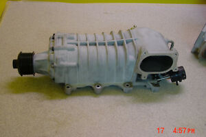 Factory Eaton M122 1 9 Supercharger 2007 12 Mustang Shelby Gt500 Throttlebody