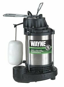 Wayne Cdu1000 1 Hp Submersible Cast Iron stainless Steel Sump Pump 58321 wyn2